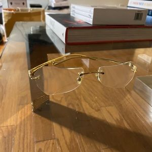 Cartier Panther Eye Glasses 18k Gold